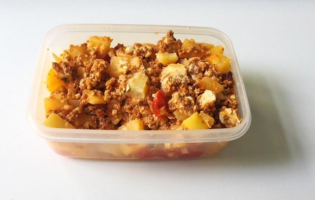 Potato casserole - Leftovers / Kartoffelauflauf - Resteverbrauch