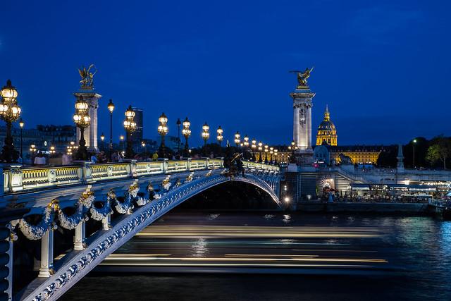 FQ97.PARIS la nuit: Le pont Alexandre III