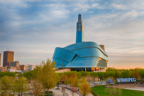 canon eos 5dii winnipeg manitoba canada sunrise prairies cmhr canadianmuseumforhumanrights humanrightsmuseum architecture clouds sky beauty downtown canadian green spring may 2019 outdoor blue breathtaking building city cityscape exhibit famous forks glass landmark landscape modern morning museum nopeople outdoors park postcard tourism travel urban view wideangle
