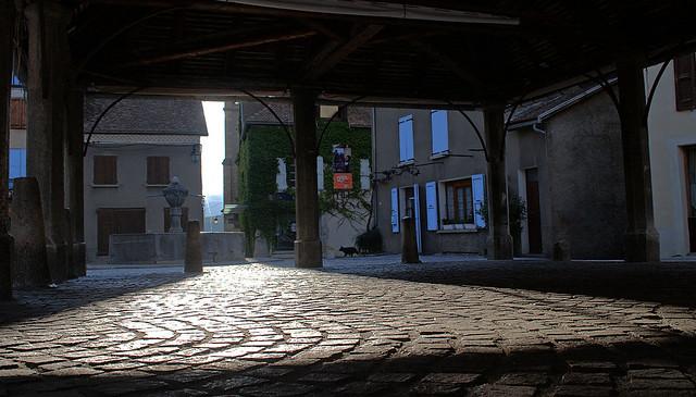 Halles de Mens (Isère)