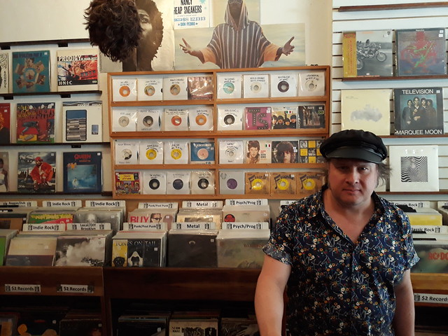 Vinyl Variety: Solo Artist JONNY COUCH Surfs Brooklyn, NY's Best Record Shops