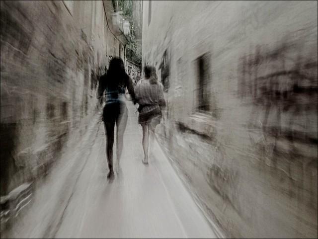 La marche ne consiste pas à gagner du temps, mais à le perdre avec élégance