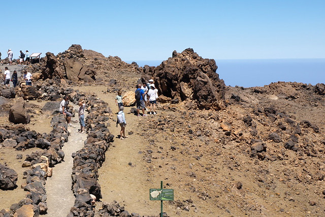 September, upper cable car level, Teide National Park, Tenerife