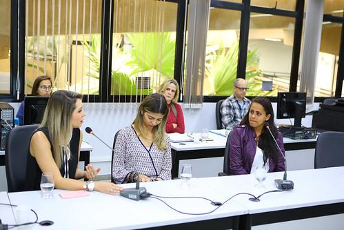 17ª Reunião Ordinária - Comissão de Mulheres - Reunião com convidados com a finalidade de ouvir a Delegada Larissa Mascotte Carvalhaes e a Major Luciana Ferreira