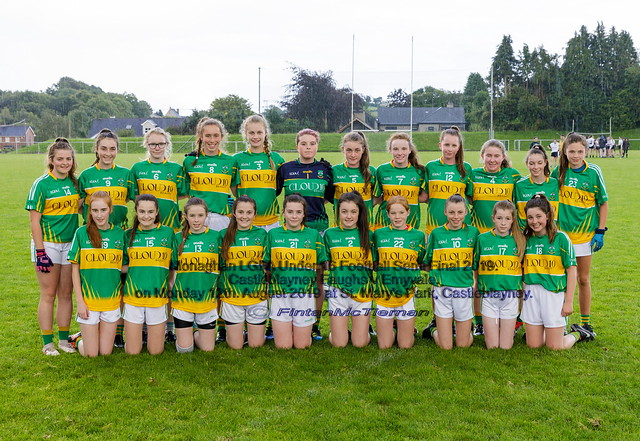 Ladies Under 16 Football Semi Final 2019.