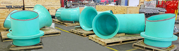 Bellmouth Reducers & Custom Pipe Spools Designed for an Ammonia Plant