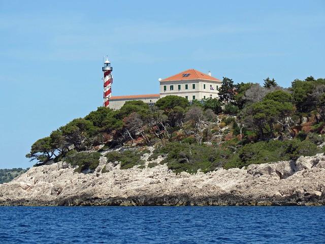 Sestrice Lighthouse, Dalmatian Islands, Croatia