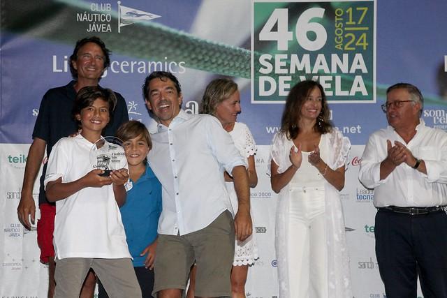 Entrega de premios 46 Semana de Vela