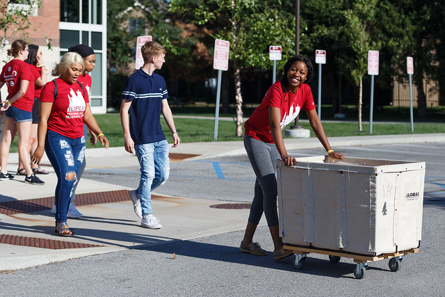 IUPUI Move-In Day 2019