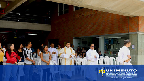 UNIMINUTO Sede Bello celebró eucaristía conmemorativa a San Juan Eudes