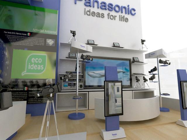 Panasonic Telemundo Stand