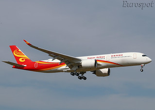 F-WZNS Airbus A350 Hainan Airlines