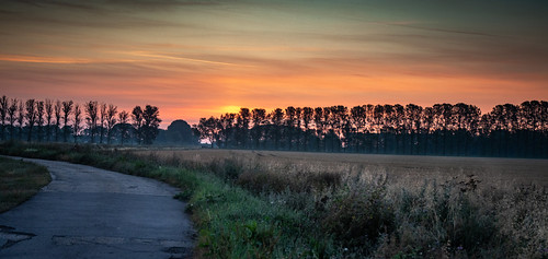 Sunrise on the Fens