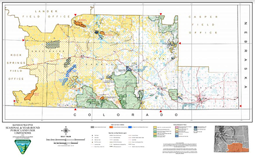 wyoming blm maps pdf Public Access Restrictions Opportunities Bureau Of Land Management wyoming blm maps pdf