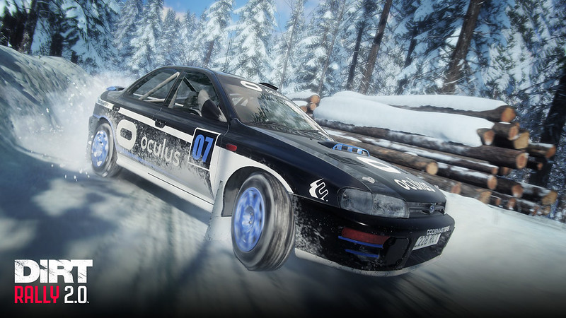 DiRT Rally 2.0 Subaru Impreza 95 Oculus