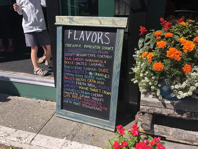 Acadia ice cream