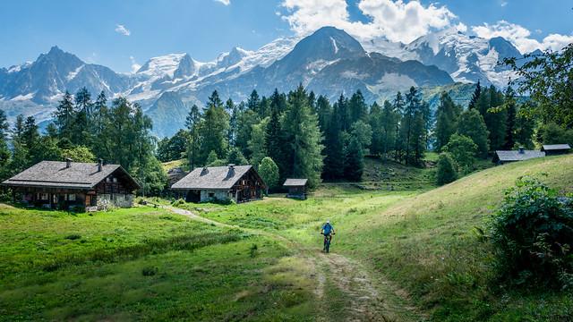 Alpage de Charousse - Mont Blanc