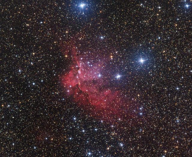 NGC 7380 Varázsló-köd - VCSE - Ágoston Zsolt