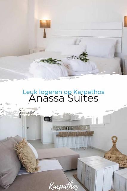 Leuk logeren op Karpathos: Appartementen Anassa Suites, Amoopi | Vakantie Karpathos