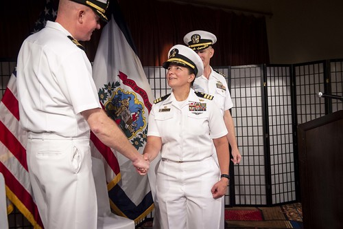 The Arleigh Burke-class guided-missile destroyer USS William P. Lawrence (DDG 110) held a change of command ceremony, Aug. 16, at Commander, Fleet Activities Yokosuka.