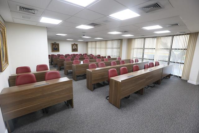 Mini auditório e sala vip da OAB SP