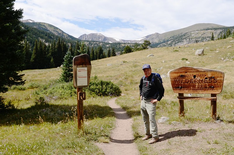 Indian Peaks Wilderness  boundary sign (6)