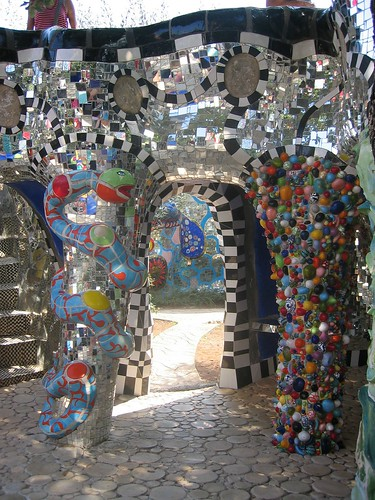 Detail from artist Niki de Saint Phalle's Tarot Garden. From Unique, Colorful, & Quirky Day Trips from Florence, Italy