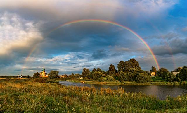 Rainbow in Dunilovo