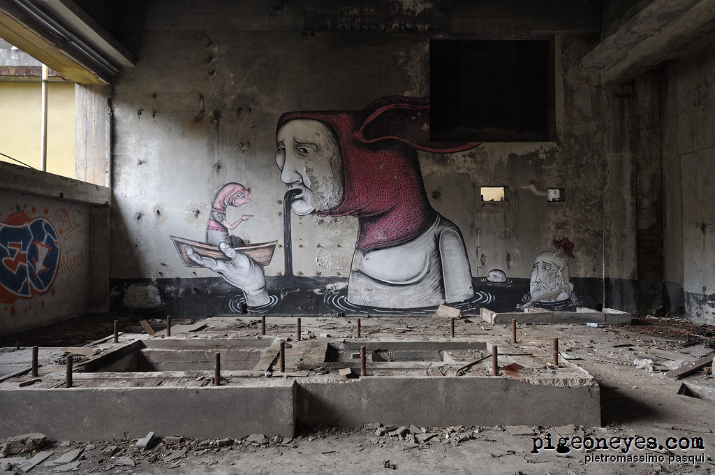 Abandoned factory, Italy