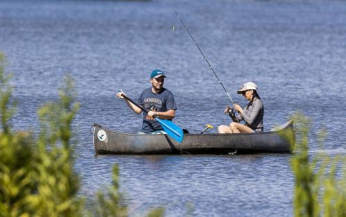 Fishing and Canoeing