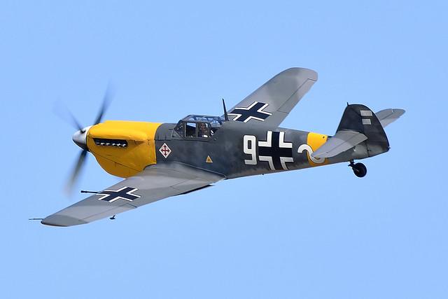 2AA_5663 Hispano HA-1112 M4L Buchon White 9  G-AWHH