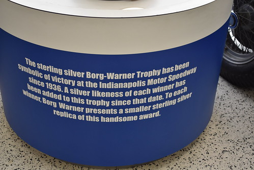 Info on the Borg-Warner Trophy
