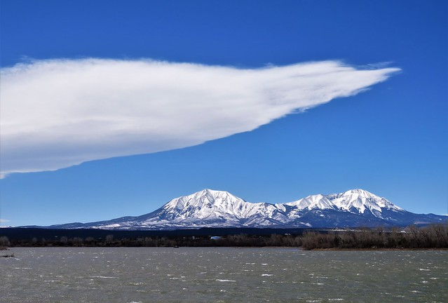 Lenticular Cloud Over the Spanish Peaks
