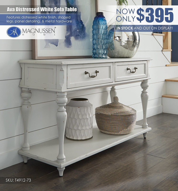Ava Distressed White Sofa Table_T4912_73_VIN