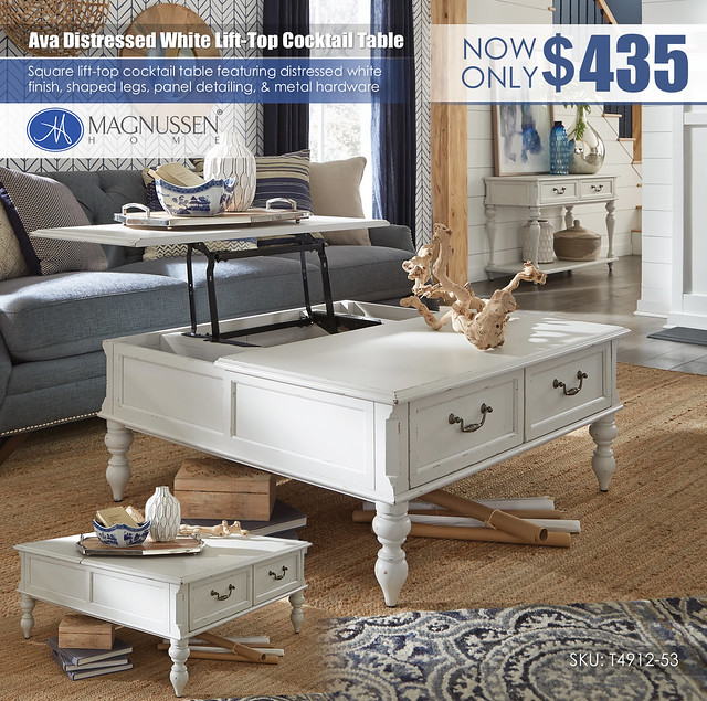 Ava White Square Lift-Top Cocktail Table_T4912_53_OPN_VIN
