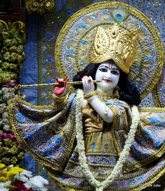 ISKCON Juhu Mangal Deity Darshan on 27th Aug 2019
