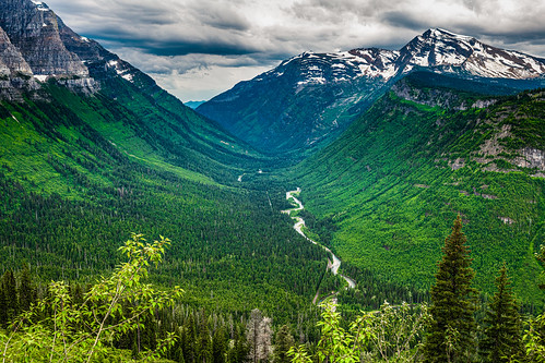 Glacier National Park, Crystal Point, Montana
