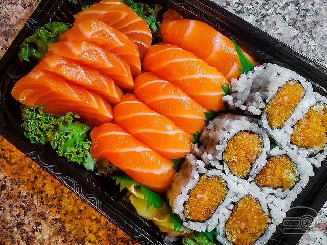 Salmon Lover Platter - Volcano