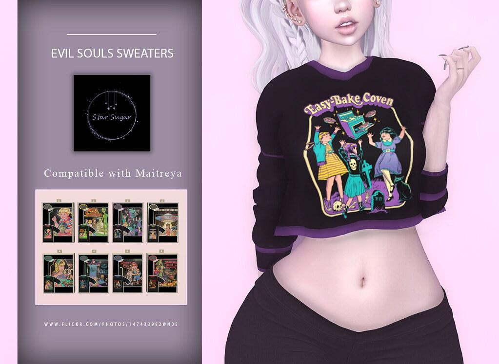 Evil Souls Sweaters