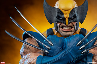 威懾感極強的備戰姿態! Sideshow Collectibles Marvel Comics【金鋼狼】Wolverine 胸像作品