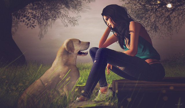 all you need is love and a dog ... ♥