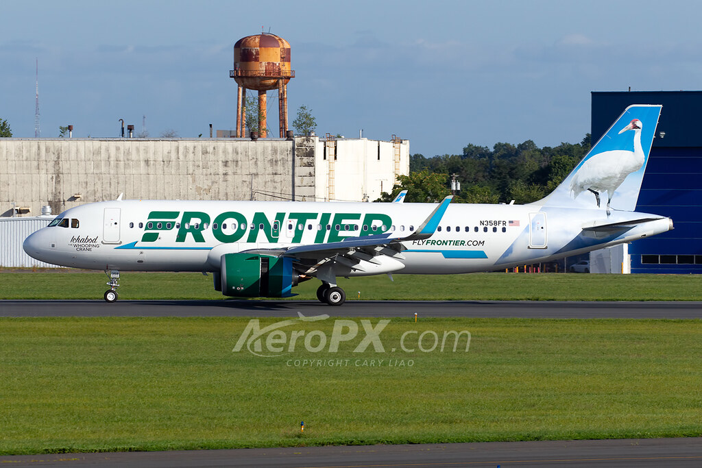Frontier Airlines Airbus A320-251N - N358FR