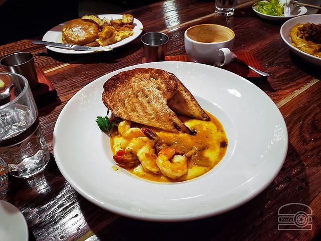 Shrimp & Grits - Cafe Kindred