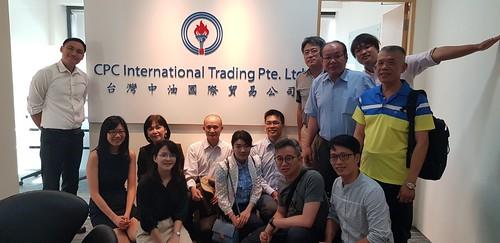 圖06.本會代表團參訪中油公司新加坡子公司留影