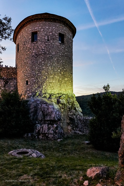 Jedna od kula Trsatske gradine