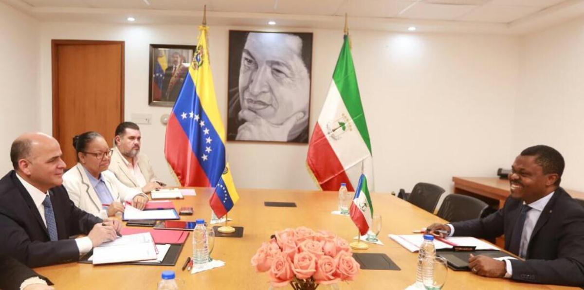 Guinea Ecuatorial y Venezuela, profundizan sus lazos de cooperación en el ámbito energético