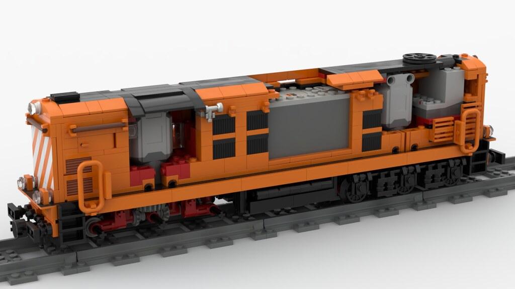 LEGO Alco CP1320 (Ex Renfe 313)