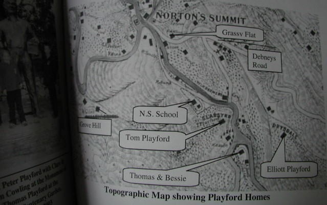 Norton Summit map