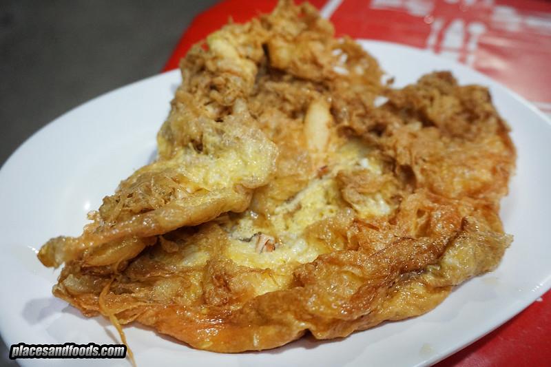 phuket town hong fish congee egg omelette
