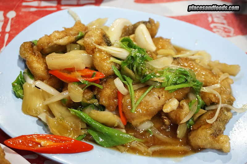phuket town hong fish congee stir fried fish maw
